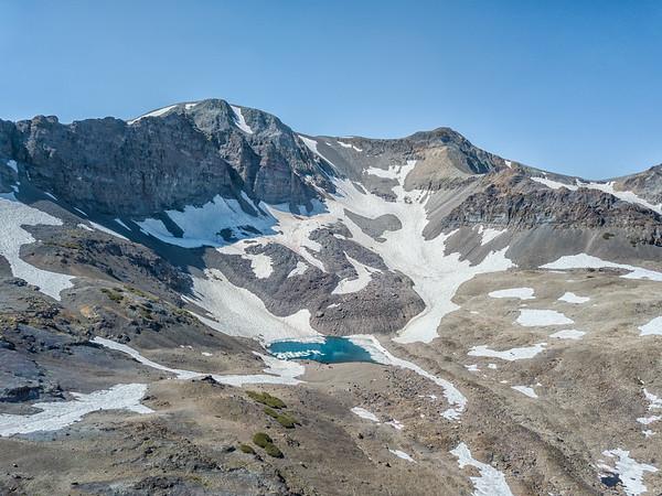 Unnamed Lake Leavitt Peak - Sonora Pass