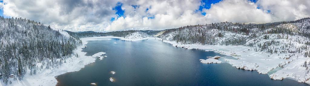 Pinecrest Lake Panorama - Sonora Pass