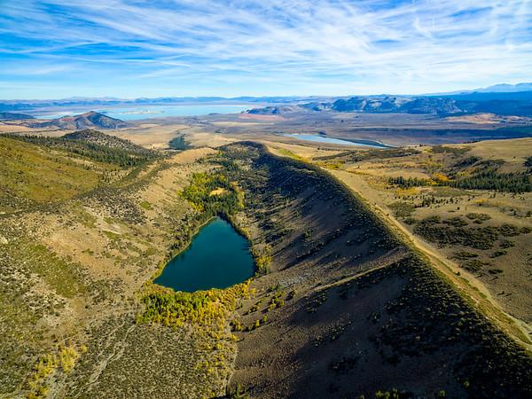 Parker Lake Aerial - June Lake Loop