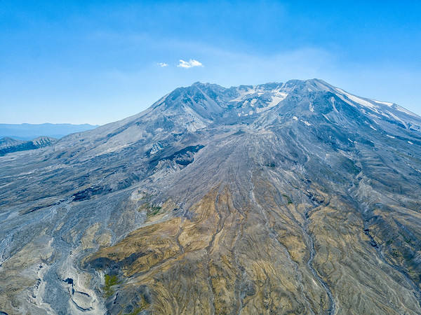 Mount St  Helens Aerial - Mount St  Helens-4