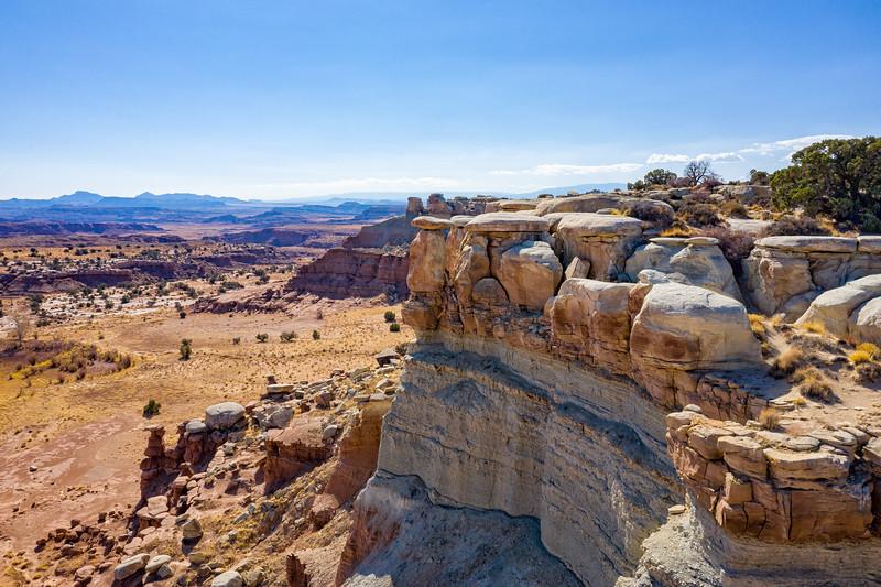 Rocks - Drone - Utah