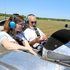 Fitchburg Municipal Airport held an Aero Fair on Saturday for all ages. Getting ready to go up in a kit plane, called a Zenith, built by the pilot Mark Hubblebank is Olivia Phillips, 13, of Hubberdston. SENTINEL & ENTERPRISE/JOHN LOVE
