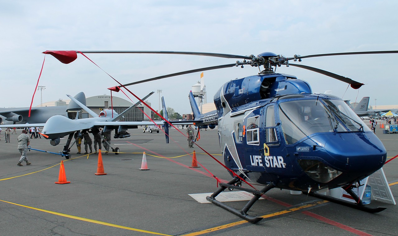 LIFESTAR2 [N155SC] at the Great New England Airshow - Westover ARB 5-16-2015