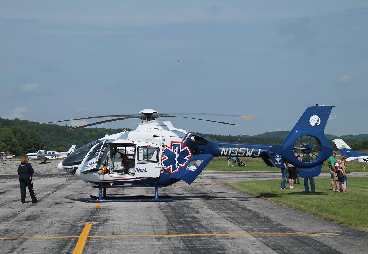 NY LIFENET EC135 [N135WJ] at William H. Morse State Airport (KDDH) Bennington, VT