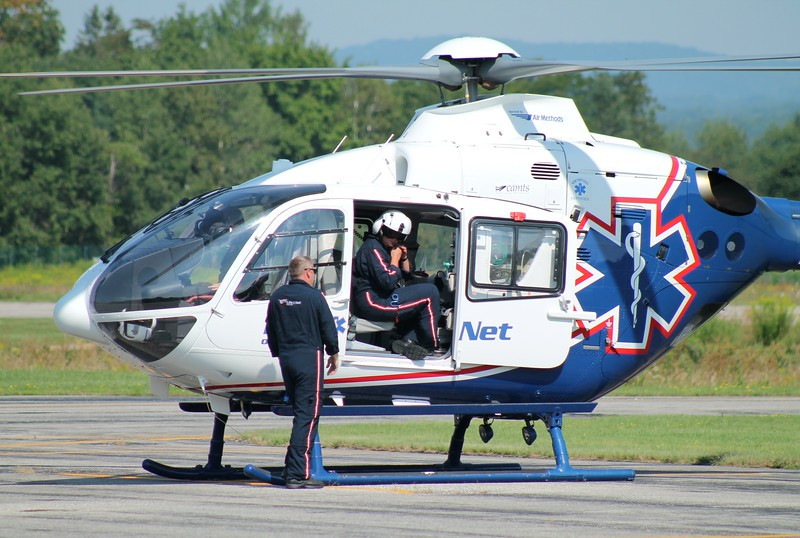 NY LIFENET EC135 [N135WJ] at William H. Morse State Airport (KDDH) Bennington, VT
