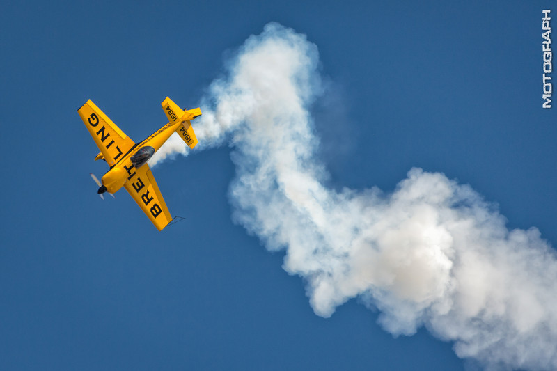 David Martin pilots the Breitling CAP 232