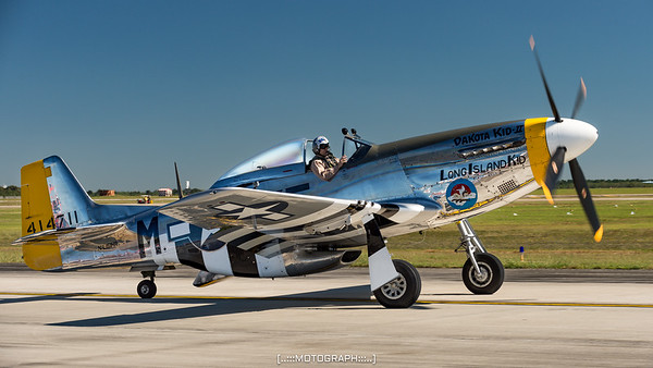 The legendary P51-D Mustang
