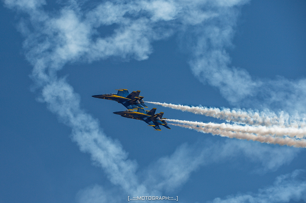 The majesty of flight personified by the Blue Angels
