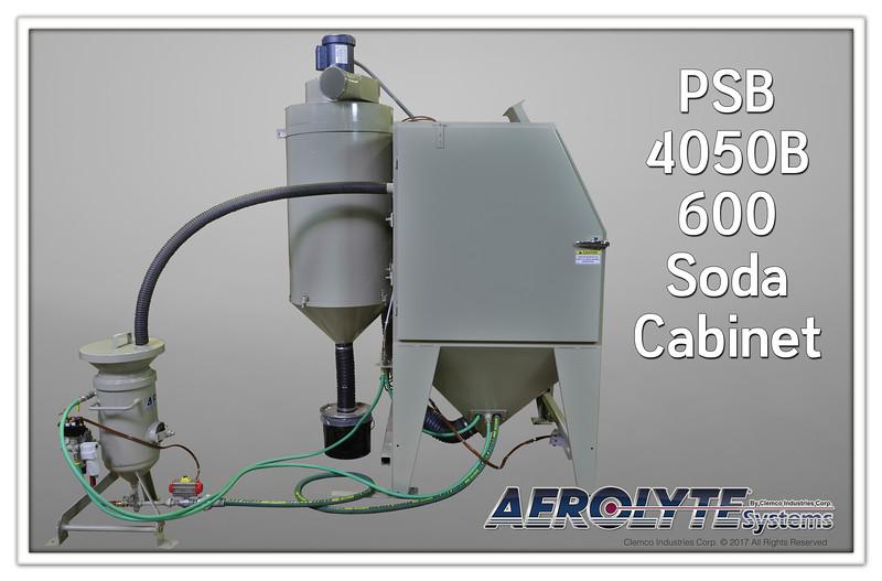 Aerolyte PSB 4050B 600 Soda Cabinet