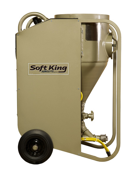 Aerolyte Soft King 1.5ft³ Bicarb Blast Machine