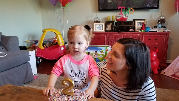Audrina's 2nd Birthday party