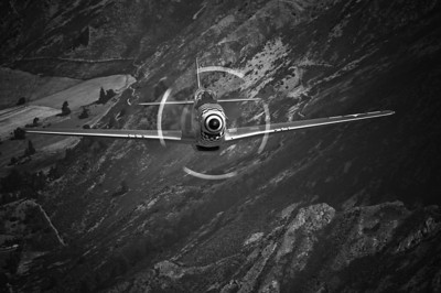 "North American P-51D Mustang ""Dove of Peace"" Wanaka, 2008"
