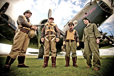 Airfield Re-Enactors Flying Legends Duxford, 2009