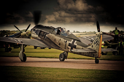 Focke-Wulf 190 Flying Legends Duxford, 2009