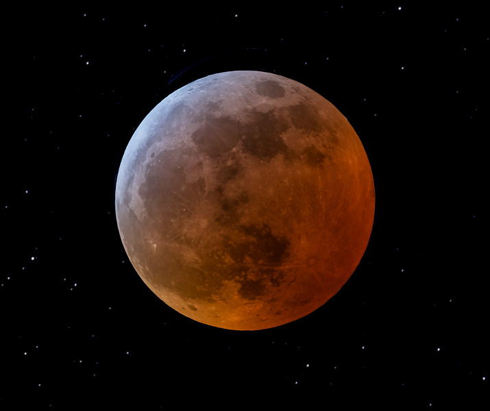Lunar Eclipse of January 21, 2019 Version 2