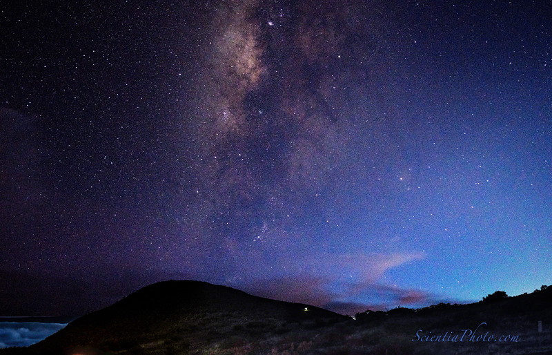 Southern Milky Way from Hale Pohaku
