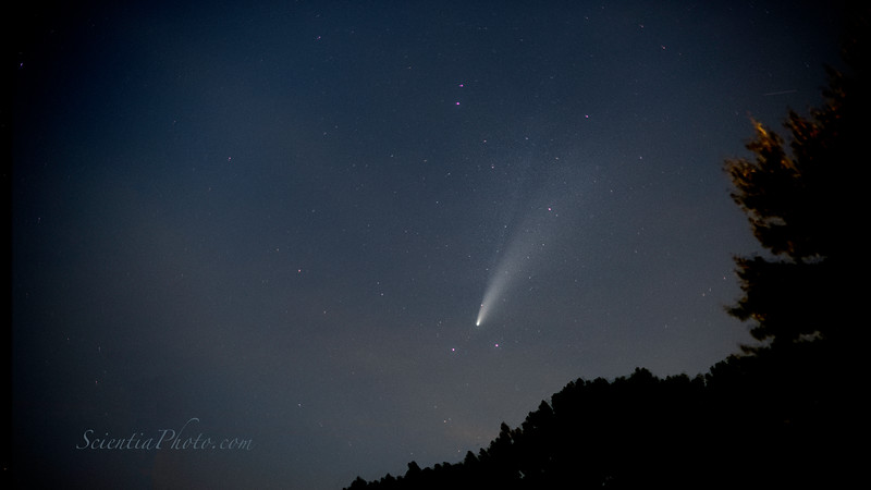 Comet NEOWISE Taken from Long Green, Maryland