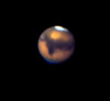 "Mars taken with the Mauna Kea 88"" Telescope at f/33 on Ektachrome (1971)"