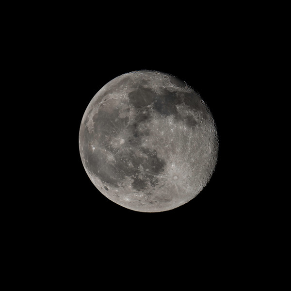 Waning Gibbous Moon 1 Day After Full