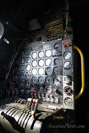 Flight Engineer's Controls