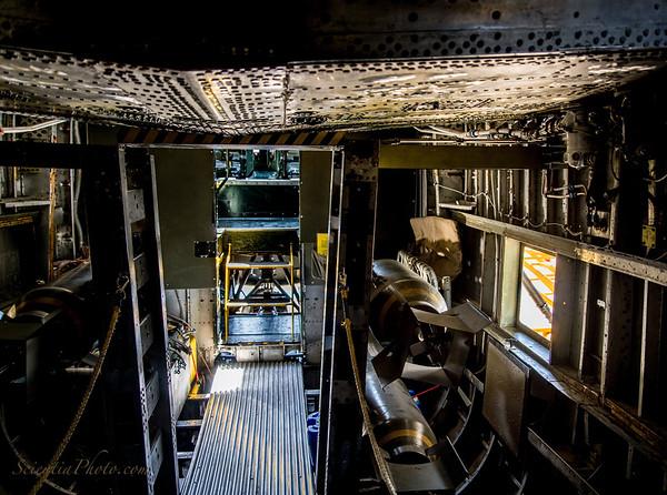 B-24 Bomb Bay With Mock 500 Pound Bombs