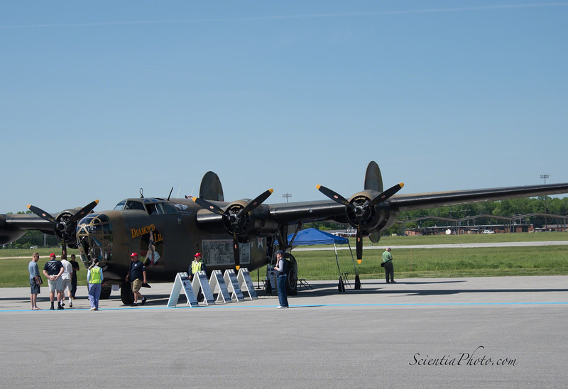 B-24 Liberator Diamond Lil of the Commenerative Air Force