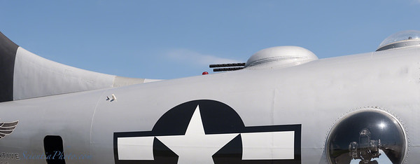 Sweeping Lines of the Mid-Section of the B-29