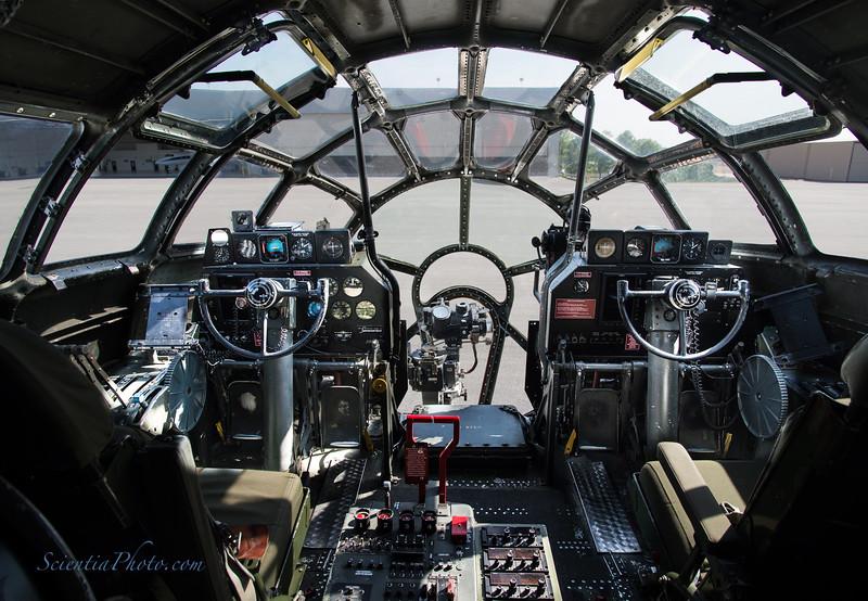 B-29 Superfortress Cockpit