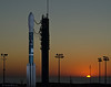 """Farewell to Soumi NPP as it Sits Atop the Delta 5 Launch Vehicle at L-12<br /> (11"""" x 14"""" or 4200 X 3300 Pixels)"""