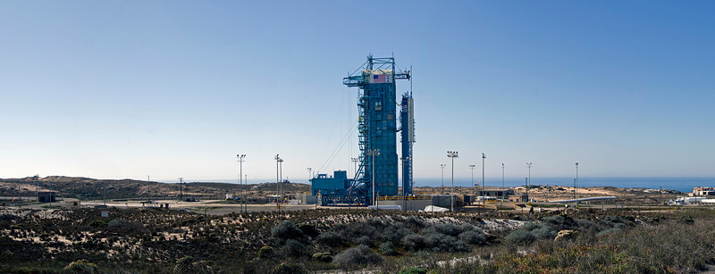 Launch Complex at Vandenberg AFB with Soumi NPP <br /> October 27, 2011