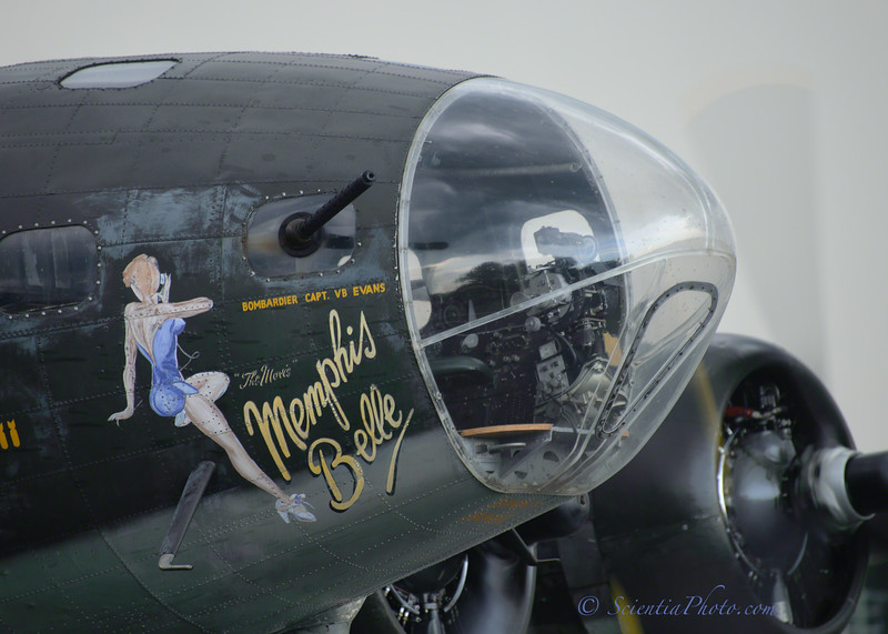 Nose Art and the Bombardier's Station