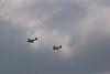 SBD Dauntless Divebomber (Front) & F-4 Wildcat (Rear)