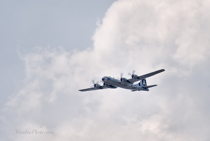 The B-29 Superfortress Fifi Approaches