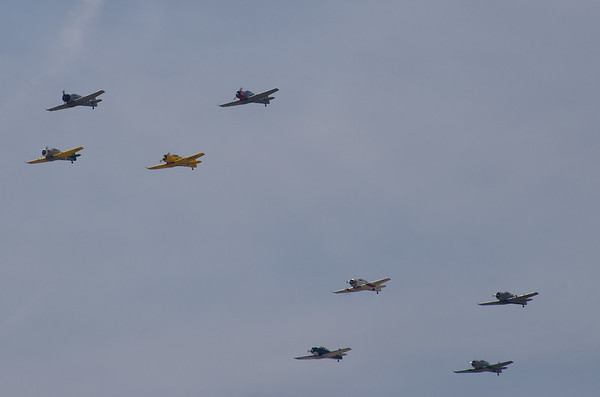 AT-6 Texan Trainers
