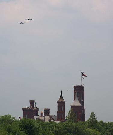 Two F-4U Corsairs