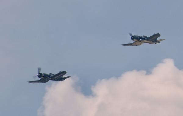F-4U Corsairs
