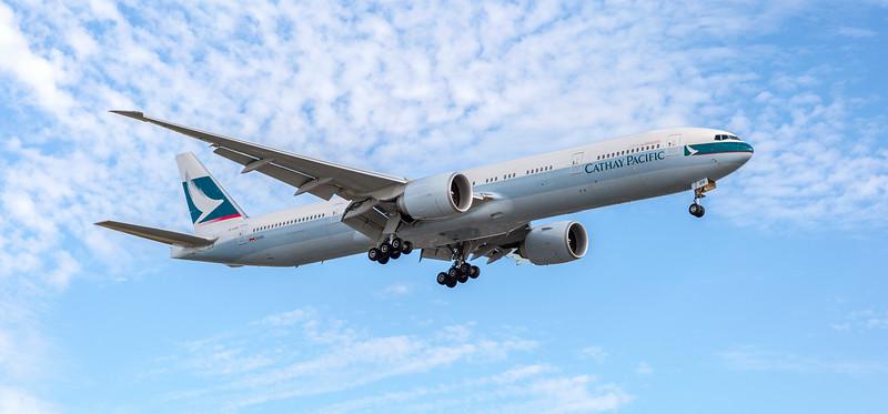 Cathay Pacific Aeroplane