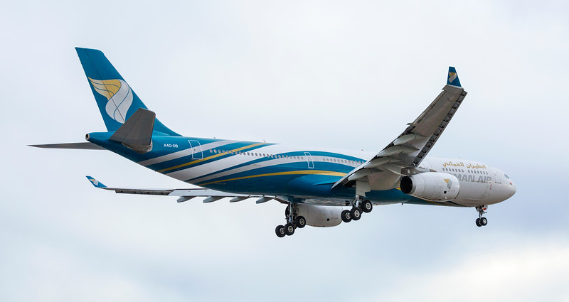 Oman Air Aeroplane