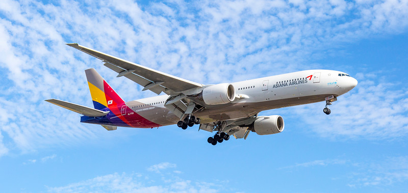 Asiana Airlines Aeroplane