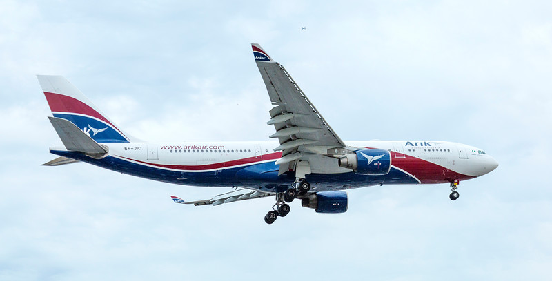 Arik Air Aeroplane