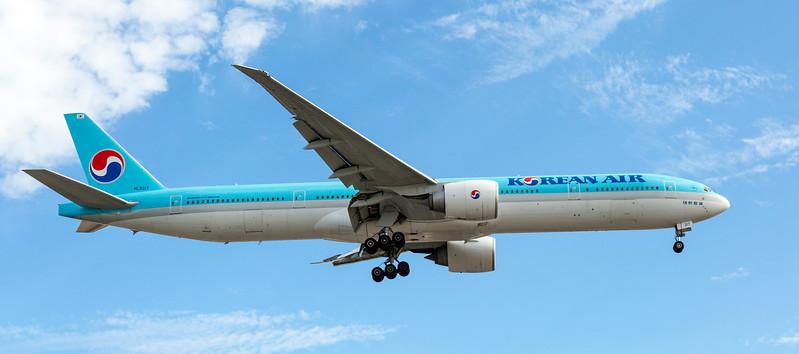 Korean Air Aeroplane