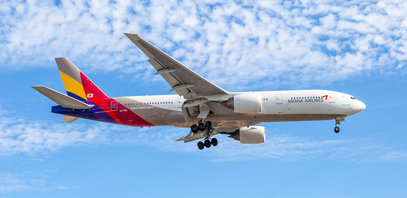Asiana Airlines Aeroplane