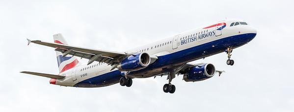 British Airways Aeroplane