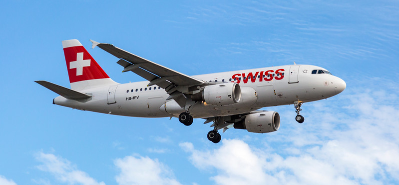 Swiss Air Aeroplane