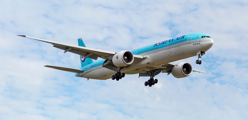 Korean Air Aeroplane