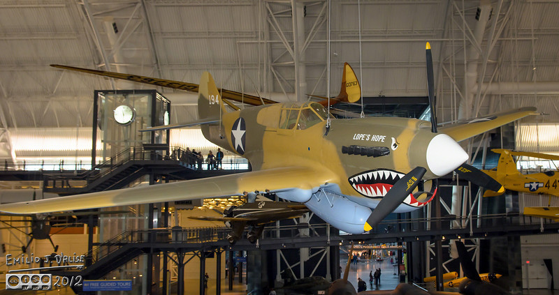 """The next thing you notice is Lope's Hope.<br /> <br />  <a href=""""http://en.wikipedia.org/wiki/List_of_surviving_Curtiss_P-40s"""">http://en.wikipedia.org/wiki/List_of_surviving_Curtiss_P-40s</a>"""