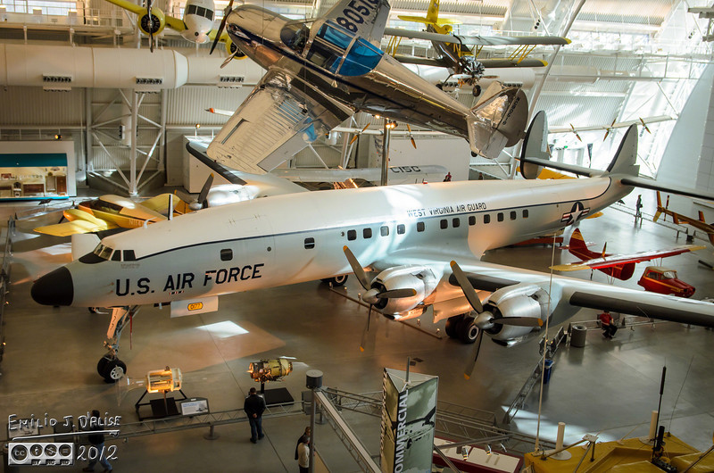"""How's this?<br /> <br /> It's worth reading the history of the plane, and of its predecessor the Lockheed Constellation. Its design was driven by Howard Hughes.<br /> <br />  <a href=""""http://en.wikipedia.org/wiki/Lockheed_Constellation"""">http://en.wikipedia.org/wiki/Lockheed_Constellation</a>"""