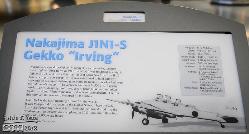 """<a href=""""http://en.wikipedia.org/wiki/Nakajima_J1N"""">http://en.wikipedia.org/wiki/Nakajima_J1N</a>"""