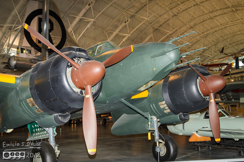 """Nakajima, J1NS, Gekko, """"Irving"""" . . . <br /> <br /> Sometimes the translations of Japanese names varies depending on the source, but as far as I can tell, the name Gekko means """"Moonlight"""".  Fitting for a plane that was a night fighter."""