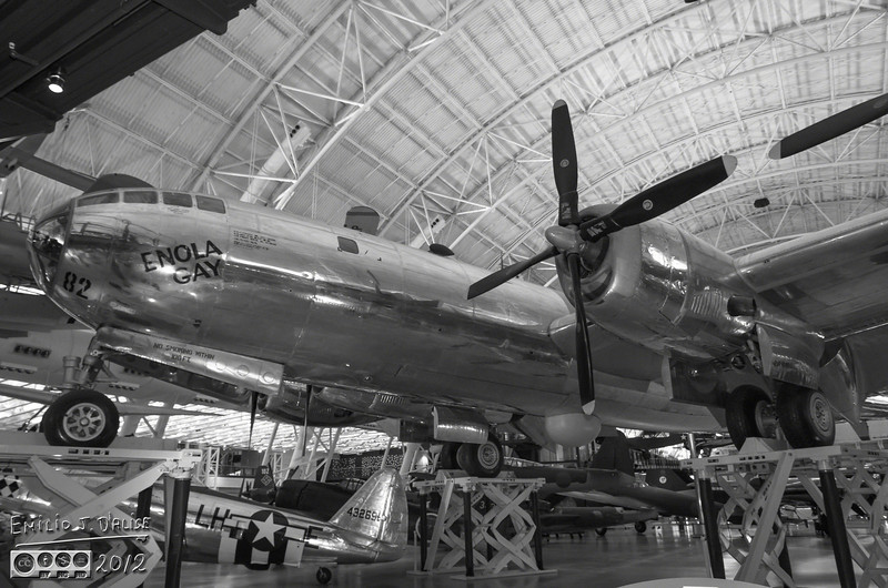The Enola Gay carried Little Boy to the skies over Hiroshima, and set it free . . . ushering us into an era of unprecedented potential in human-caused destruction; The Atomic Age.